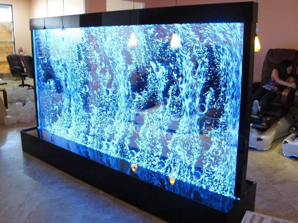 Meja Tv Lcd Bubble Wall Acrylic – Supplier Acrylic Jakarta
