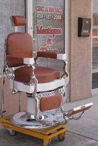 Koken Barber Chairs | Custom Barber Chairs and Restorations
