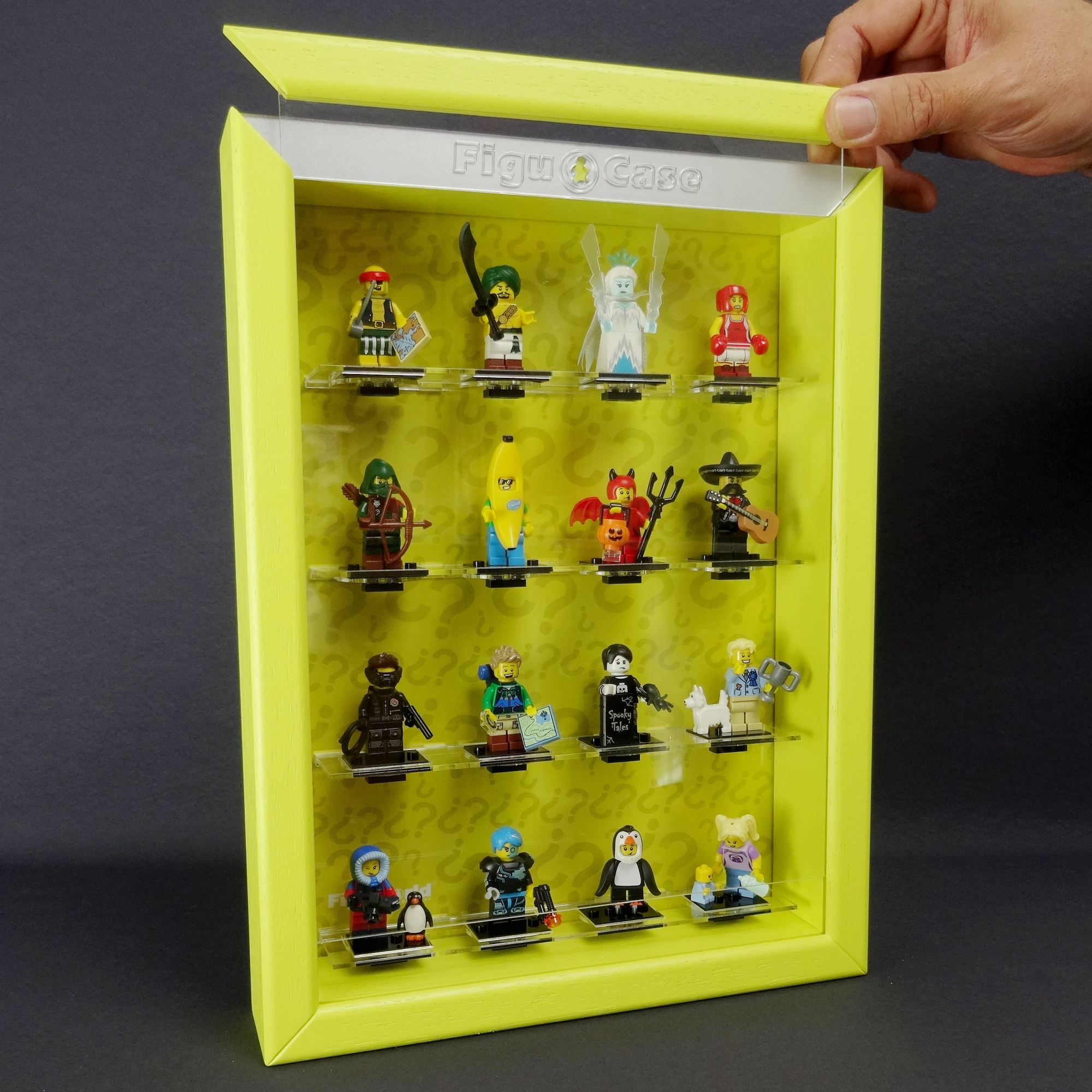 Lego Vitrine Custombricks De Figucase Showcase For Lego Series 71013