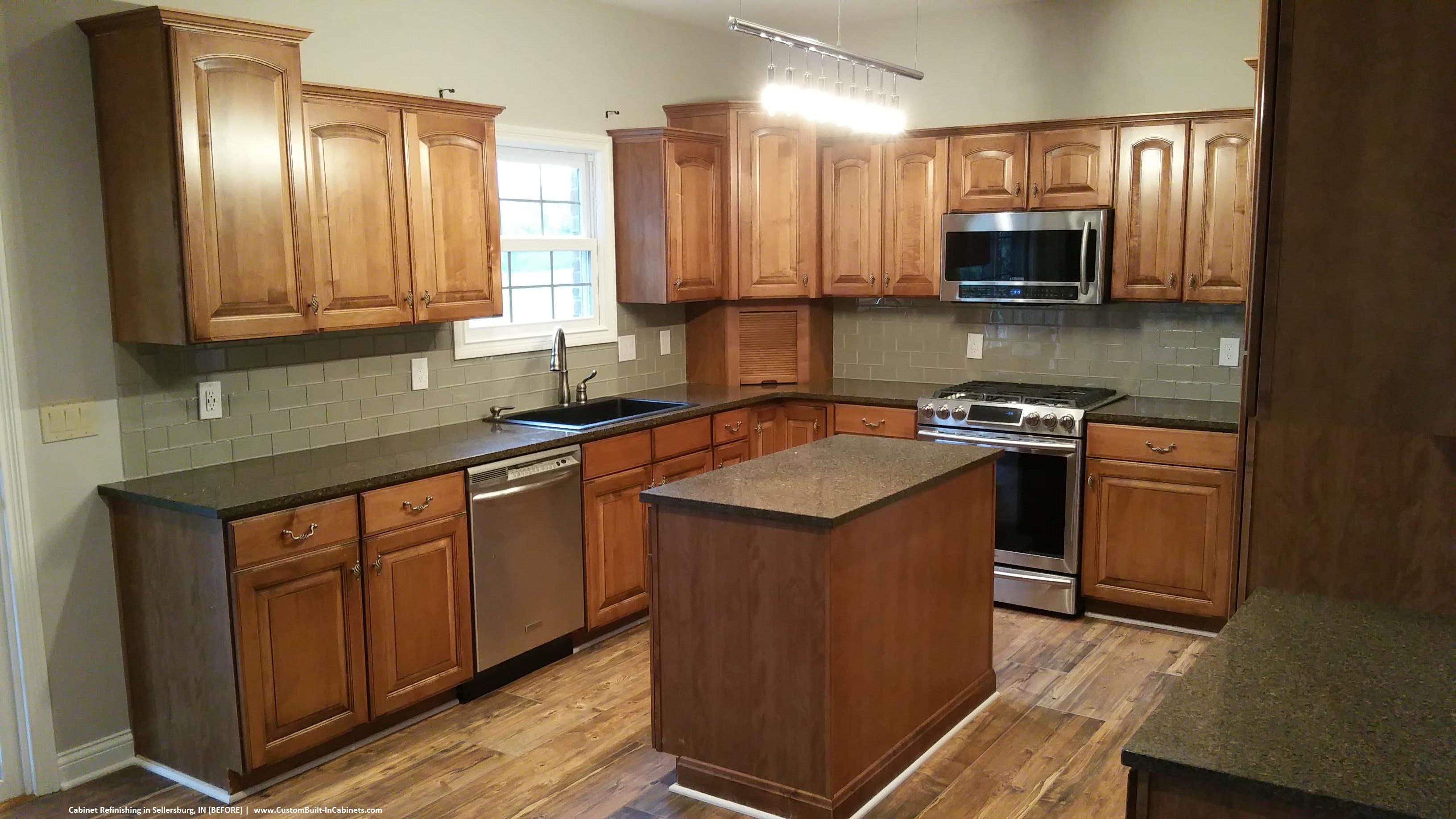 Photo Of Kitchen Cabinets Cabinet Refinishing Louisville And Southern Indiana Areas
