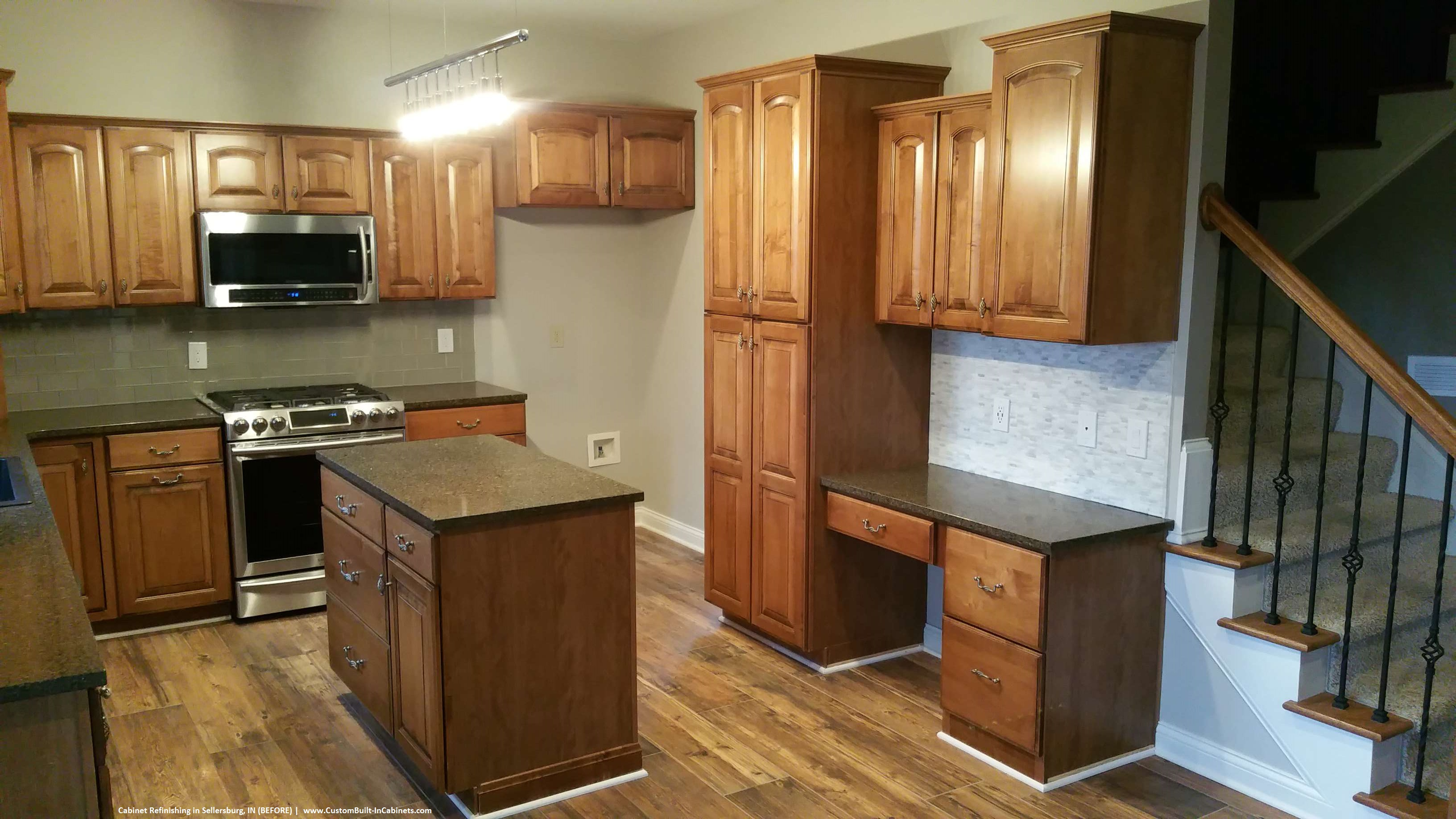 Can Kitchen Cabinets Be Refinished Cabinet Refinishing Louisville And Southern Indiana Areas