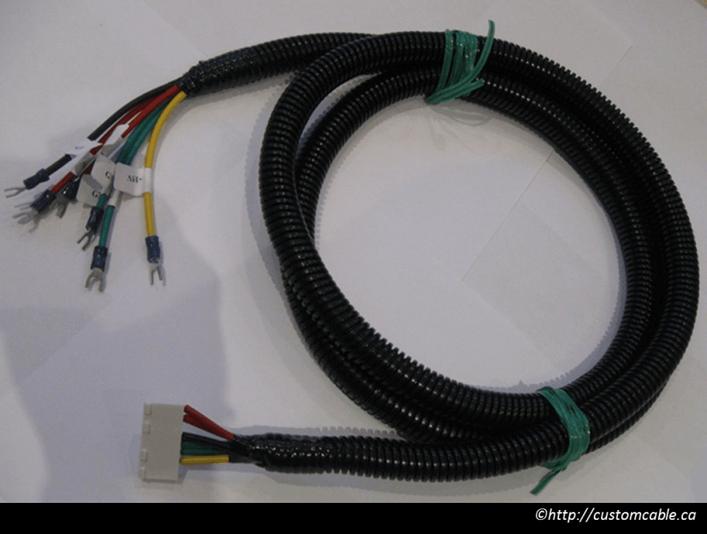 custom cables and wiring harnesses