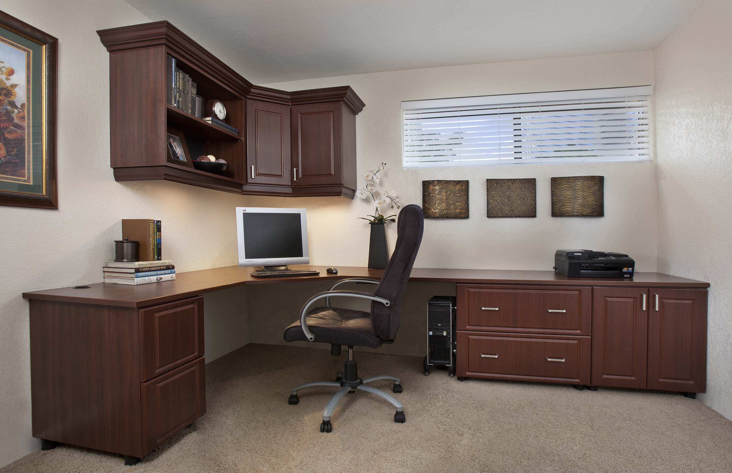 Home Office Cabinets Home Office Cabinets Office Organization Design In Michigan
