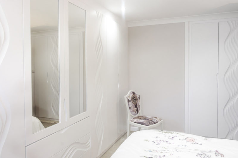 White Fitted Wardrobes Case Study Custom Creations