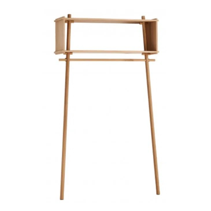 Anlehngarderobe Wooden Wall Shelves For Clothes Hanging Clothes Rack Wall