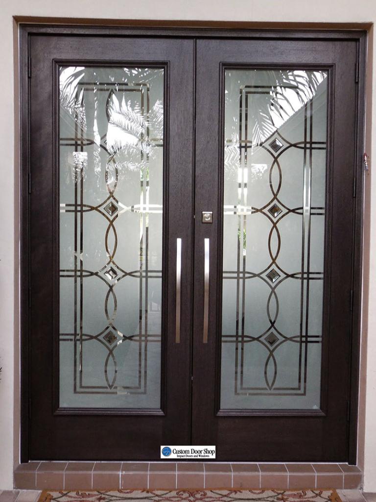 Etched Doors