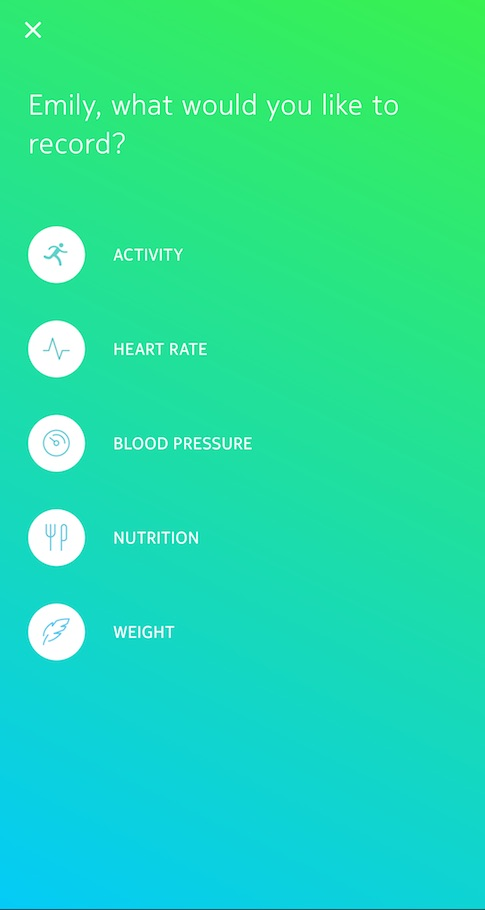 Health Mate - Android App - Manually adding measurements \u2013 Withings - weight by measurements