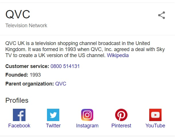 qvc-contact-info - UK Customer Service Contact Numbers Lists
