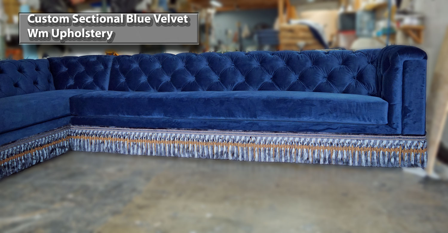 Made Sofa Velvet Custom Sofas Los Angeles Sectionals Couches Upholstery And