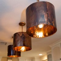 Mediterranean Kitchen copper pendant light
