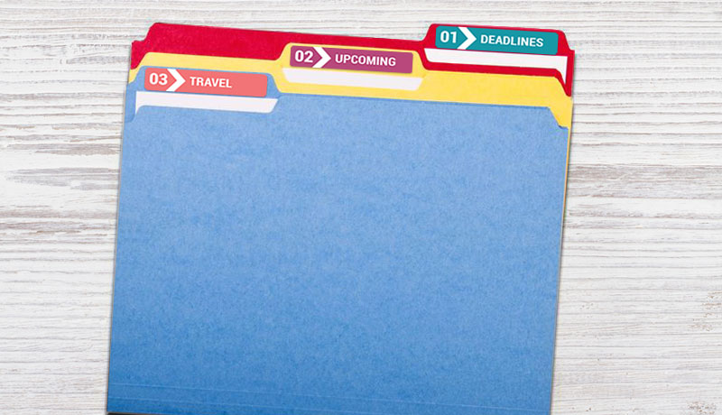 File Folder Labels - Professional Printing at Low Prices
