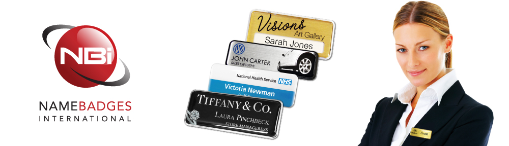 Name Badges - Custom magnetic name badges