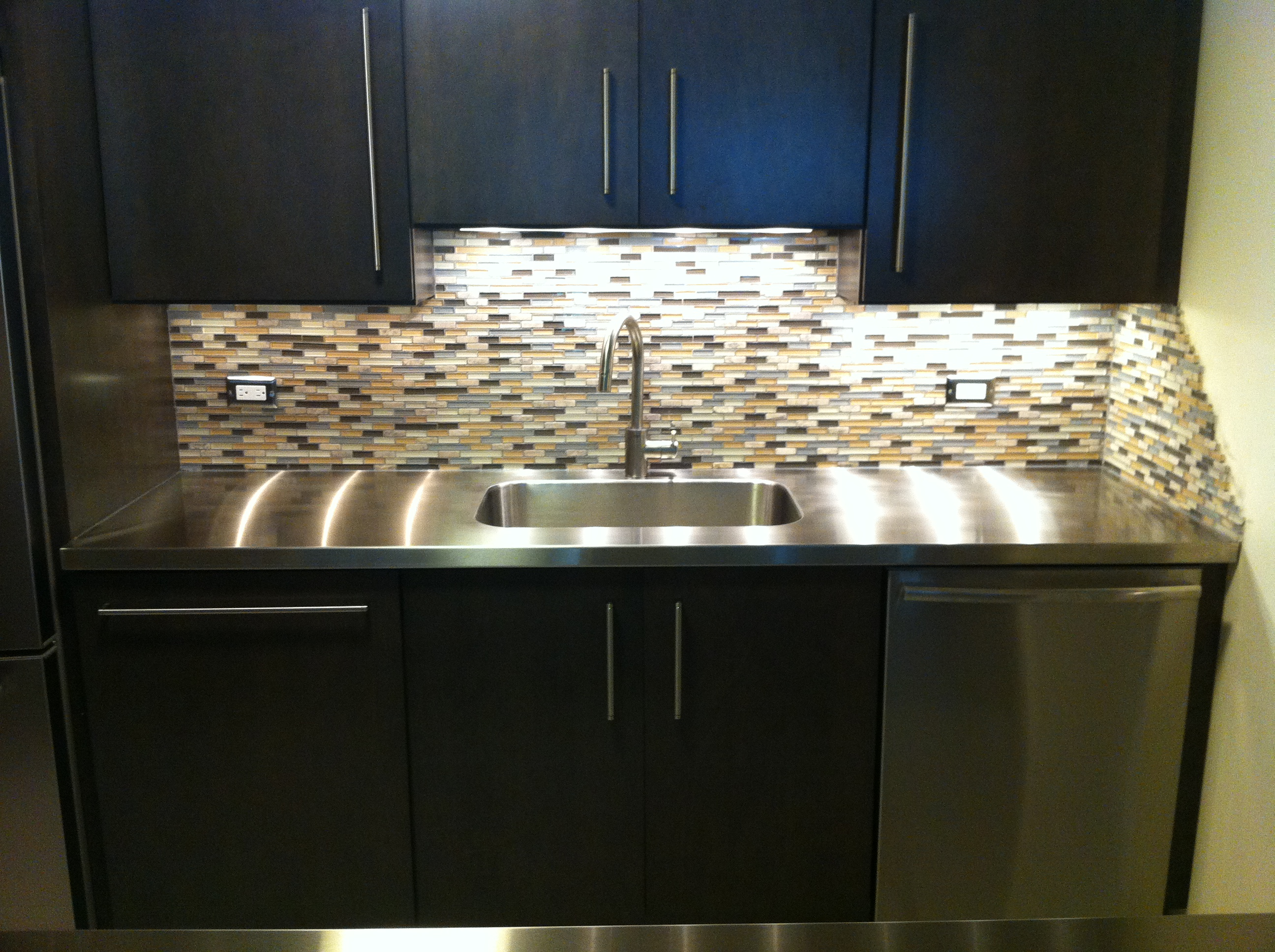 Installing Stainless Steel Countertops Stainless Steel Countertops Custom Metal Home