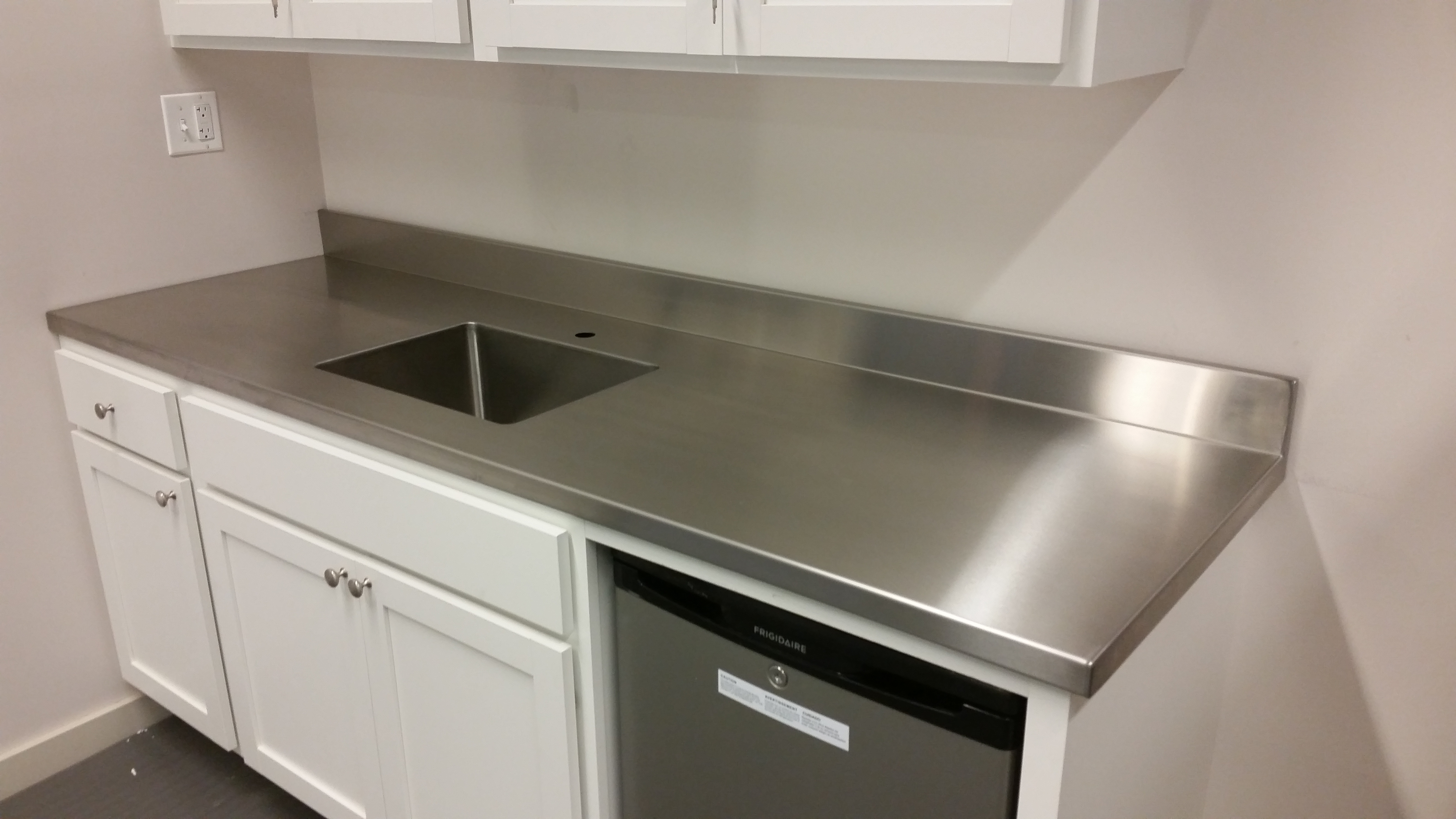 Stainless Countertop Stainless Steel Countertops Custom Metal Home