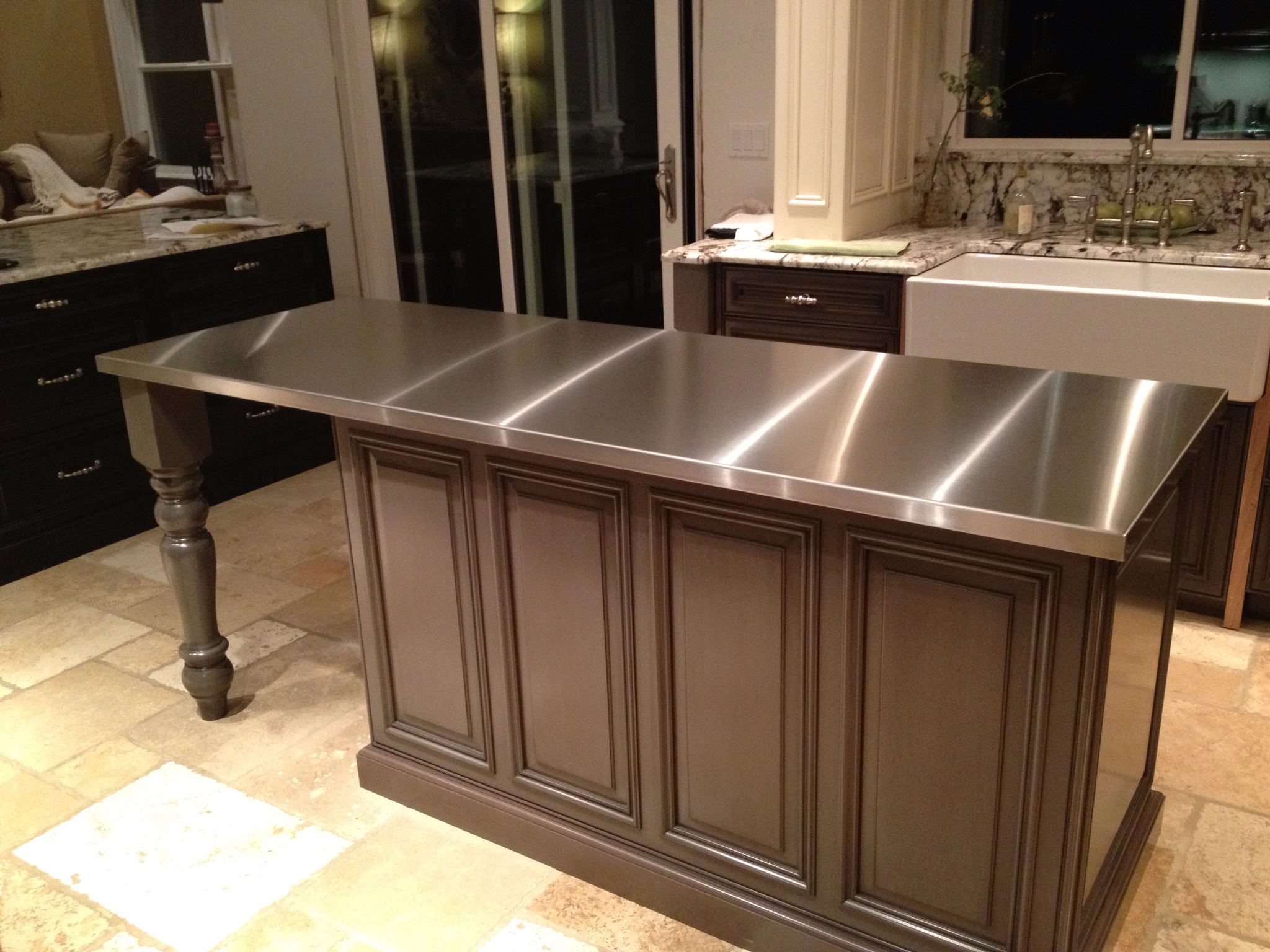 Stainless Steel Cabinets And Countertops Stainless Steel Countertops Custom Metal Home