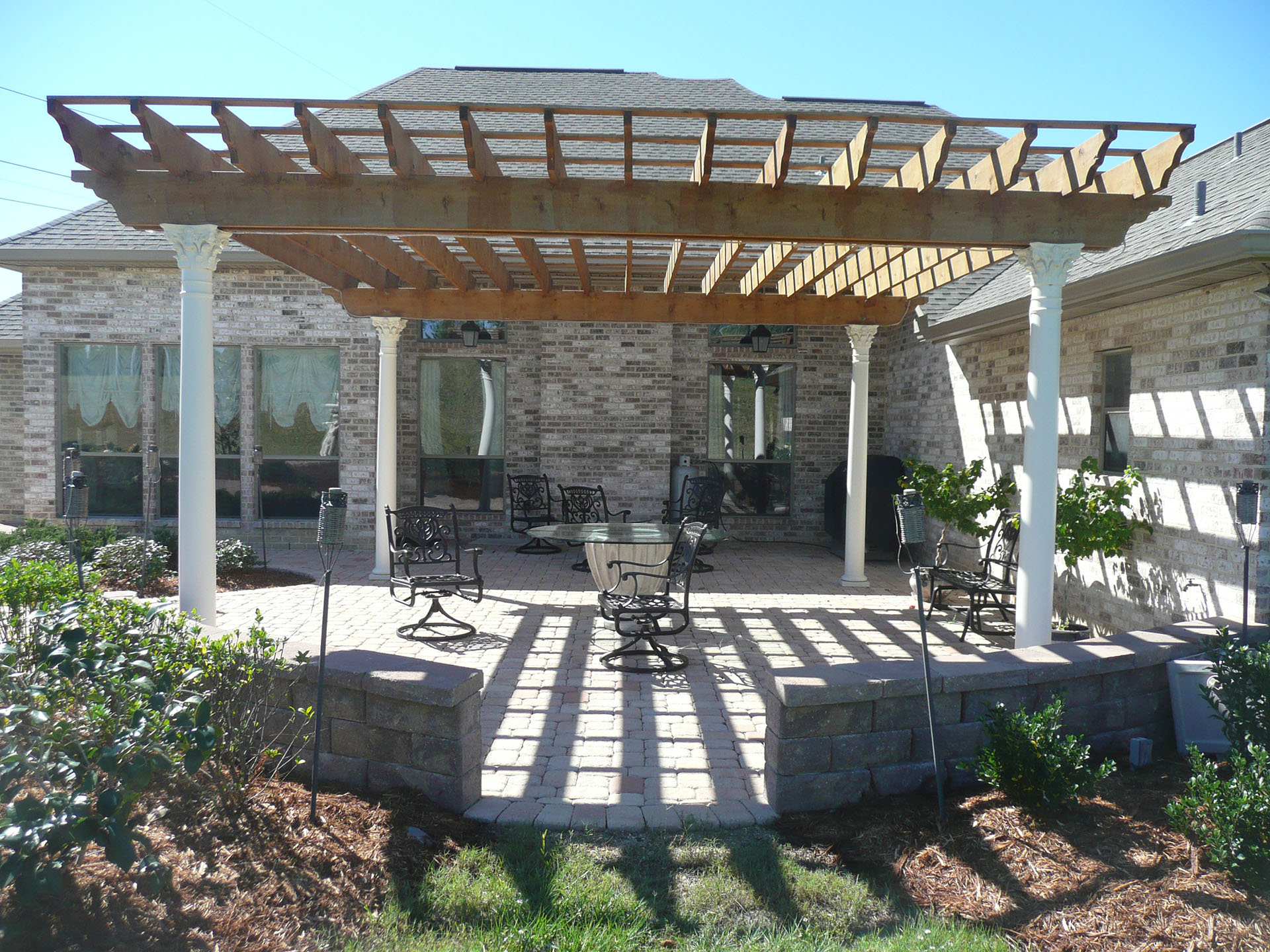 Pergola Designs Pergolas New Orleans Pergola Designs Custom Outdoor Concepts