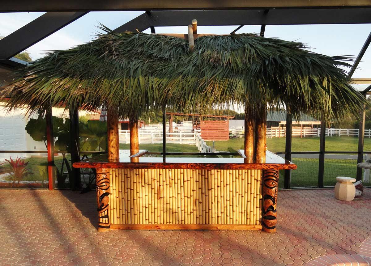 Tiki Canopy & Tiki Canopy  Folds Up For Easy Transport