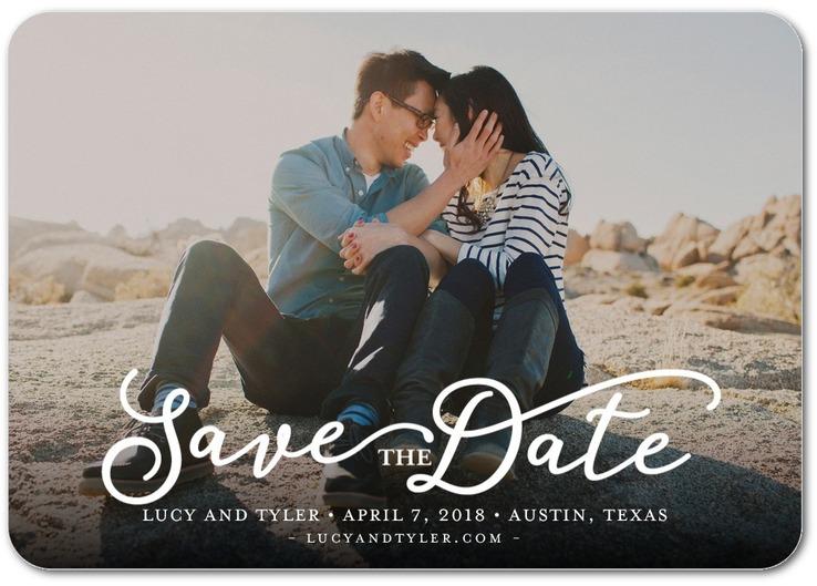 sample save date invite wording3 - Custom Printing Deals
