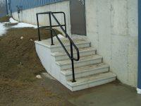 Exterior Stair Railings | Custom metal fences | Custom ...