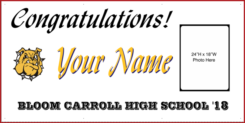 Graduation Banners Ohio High Schools  More!