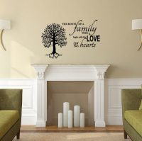 Family Tree Vinyl Wall Decal -The Roots of a Family Tree ...