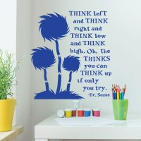 Dr. Seuss Wall Decor for Classrooms -Think Left And Think ...