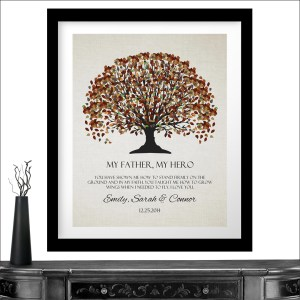 Salient Bride Groom Fall Canopy Leaves On Far Personalized Gift Bride Groom Fall Canopy Leaves On Off Background You Taught Me How To Grow Wings Stand Firmly Custom Wedding Personalized Gift Far