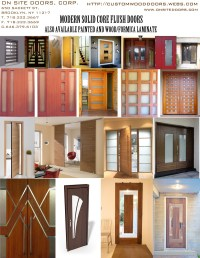DecoLux Doors & Architectural Wood Products - MODERN FLUSH ...