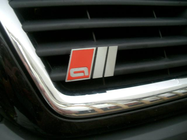 "99-05 Allroad Sport Badges – Front Grille – ""all"" style"