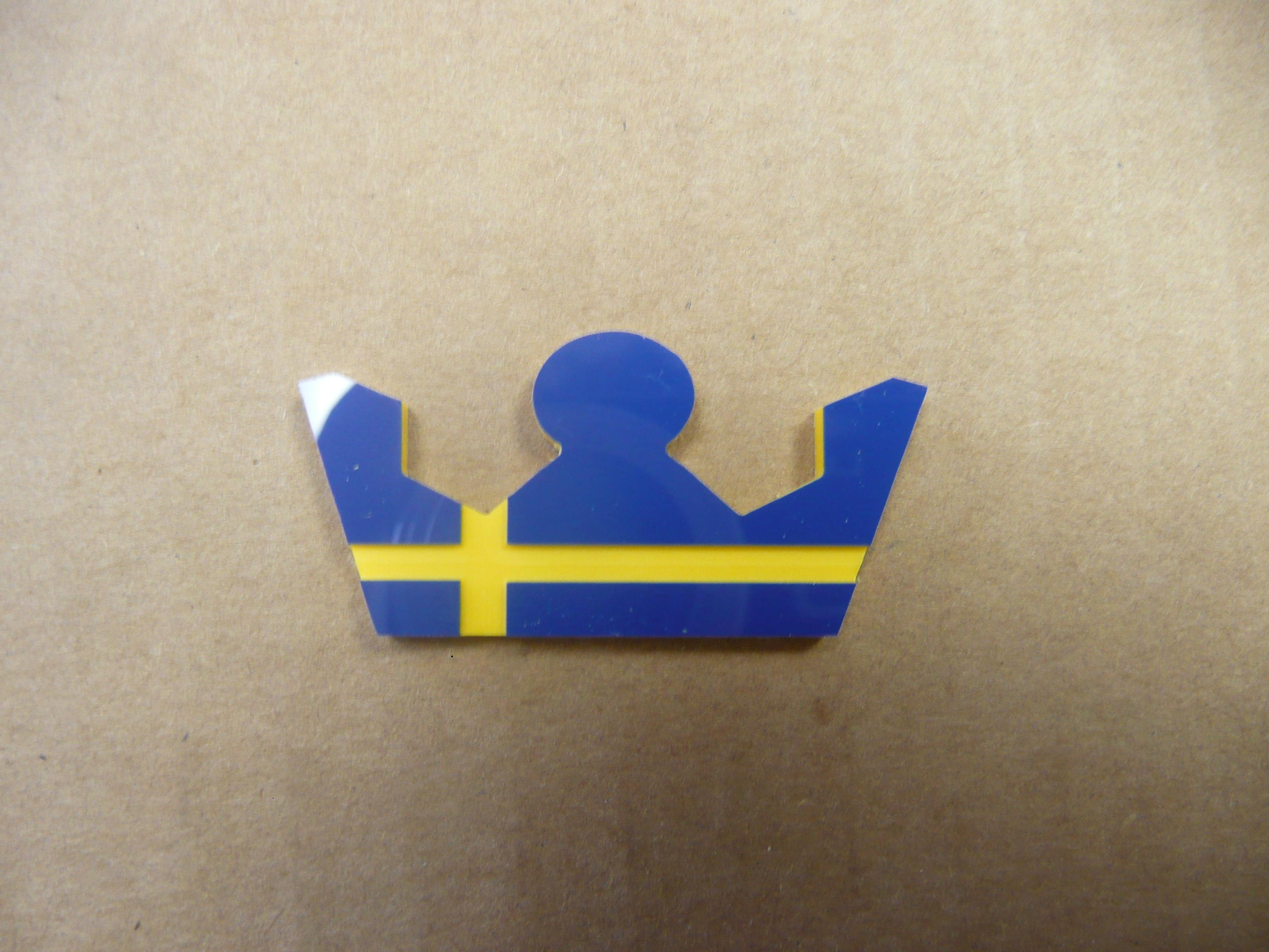 Volvo Swedish Krona Badges