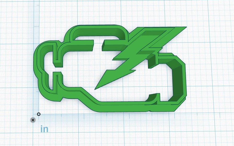 Fun/Project: CEL Cookie Cutter – 3D Printed