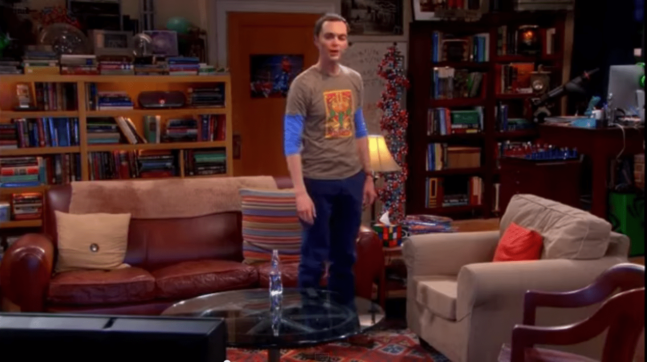 Solid Wood Extendable Dining Table Decorate Your Home In Tbbt Style: Sheldon And Leonard's