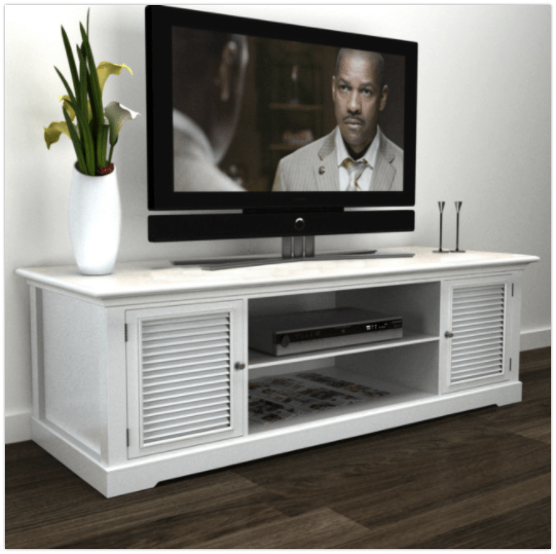 White Tv Stand 7 Elegant White Tv Stands For Beach Style Homes Cute