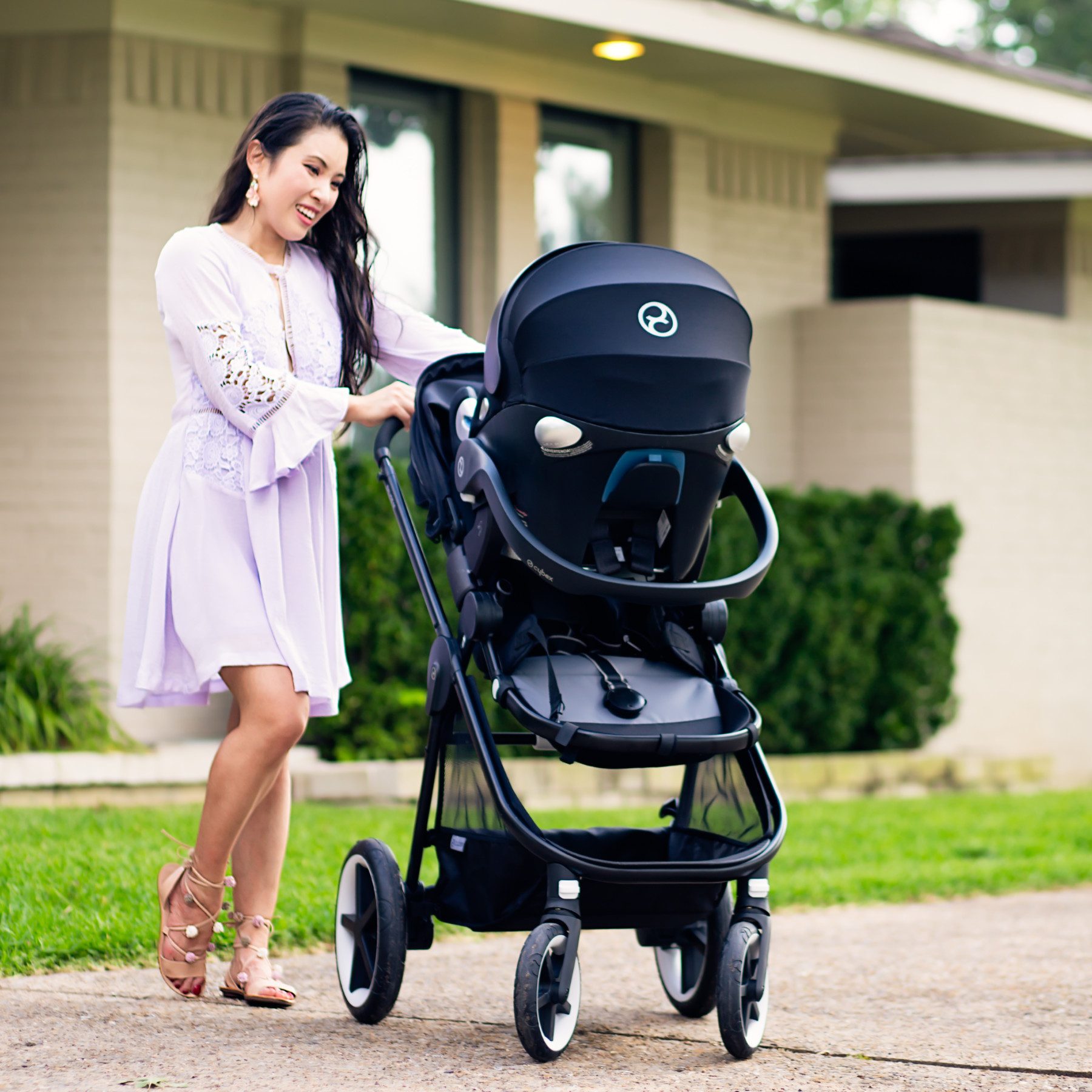 Car Seat Stroller Travel System Reviews Safety First With Cybex Cute Little Dallas Petite