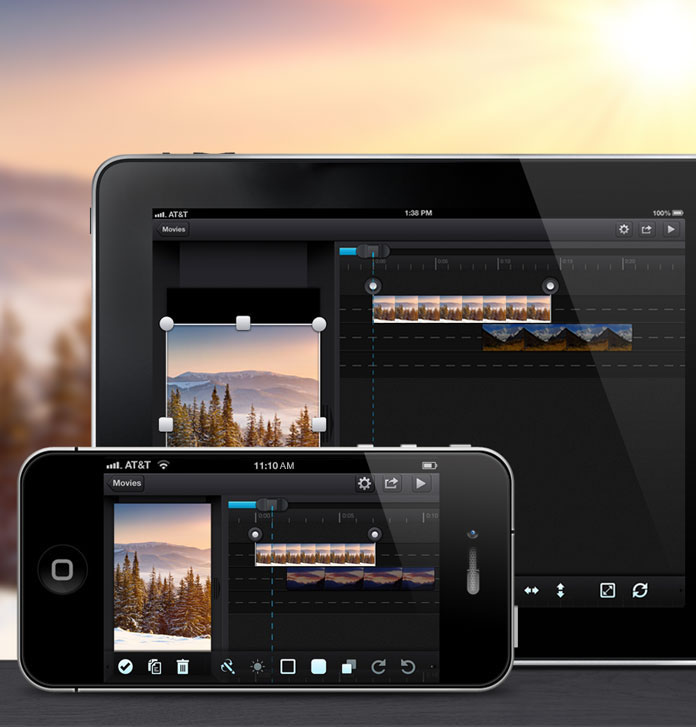 Cute CUT - To make movie different on your iPhone, iPad, and Android
