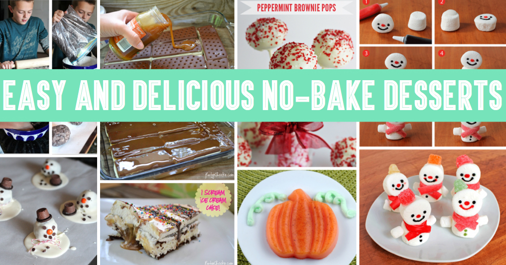 Easy And Delicious No-Bake Desserts \u2013 Cute DIY Projects - easy bake sale goodies