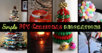 Top 9 Simple and Affordable DIY Christmas Decorations ...