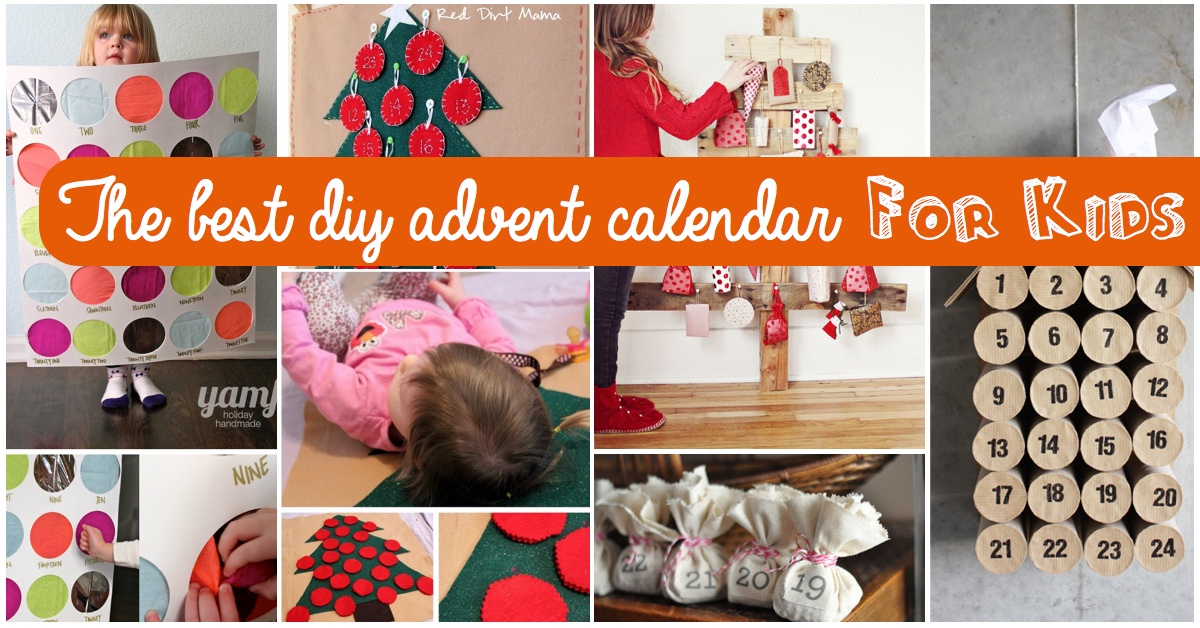 Top 15 Ideas For The Best DIY Advent Calendar For Kids \u2013 Cute DIY