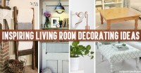 40+ Inspiring Living Room Decorating Ideas  Cute DIY Projects