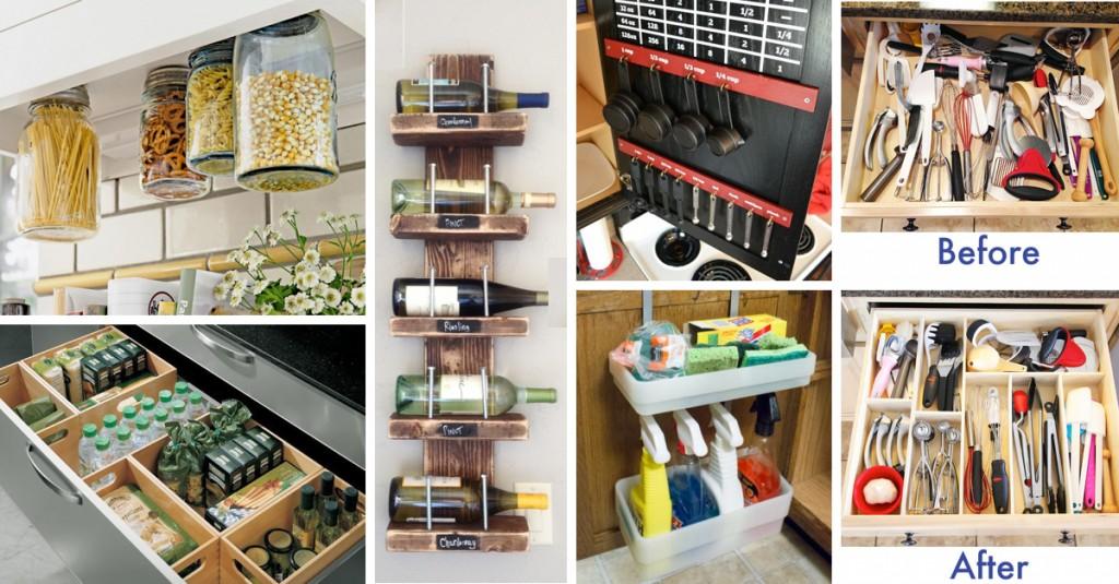 small kitchen organization diy storage ideas cheap kitchen organization ideas favorite organized space collab