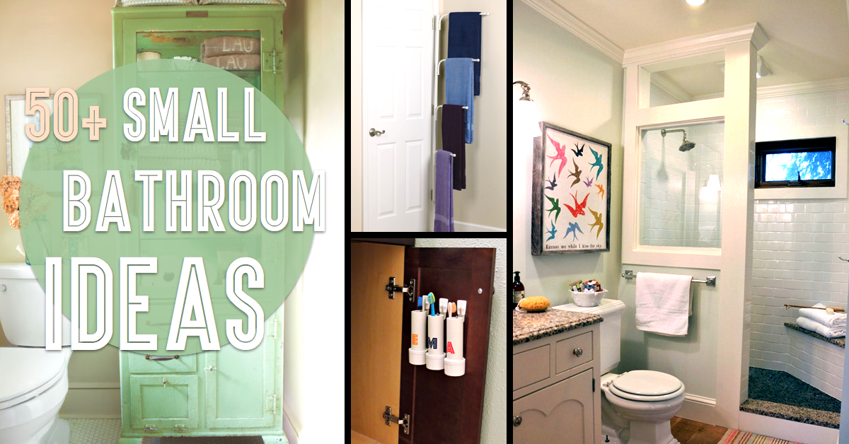 50+ Small Bathroom Ideas That You Can Use To Maximize The - bathroom picture ideas