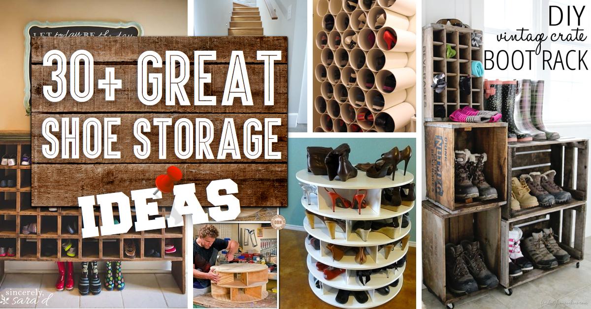 Interesting Closet Storage Ideas For Shoes Home Decor