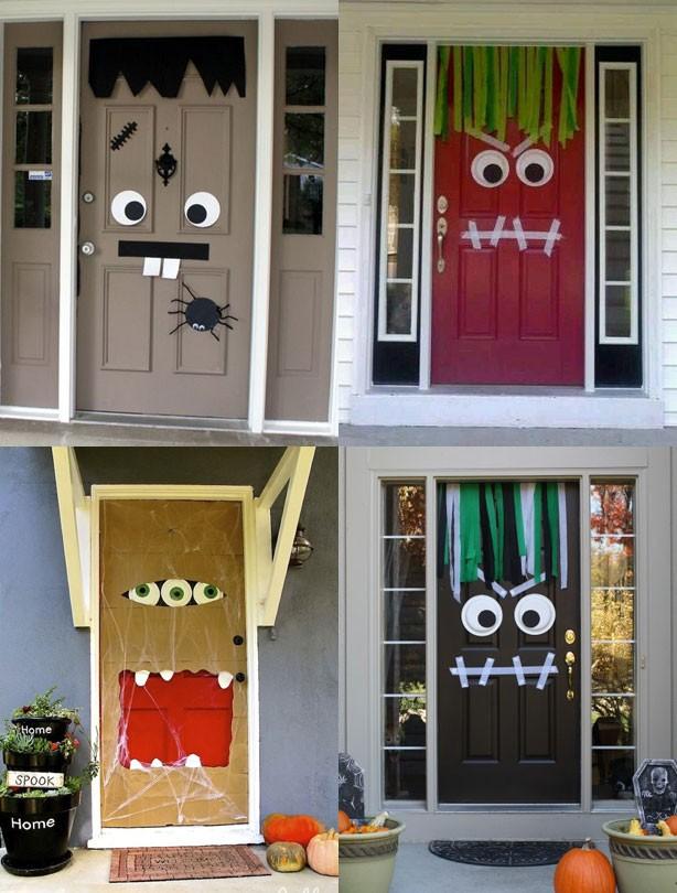 Halloween party ideas: Monster Doors