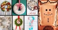 Easy Christmas Door Decorations Make | Psoriasisguru.com