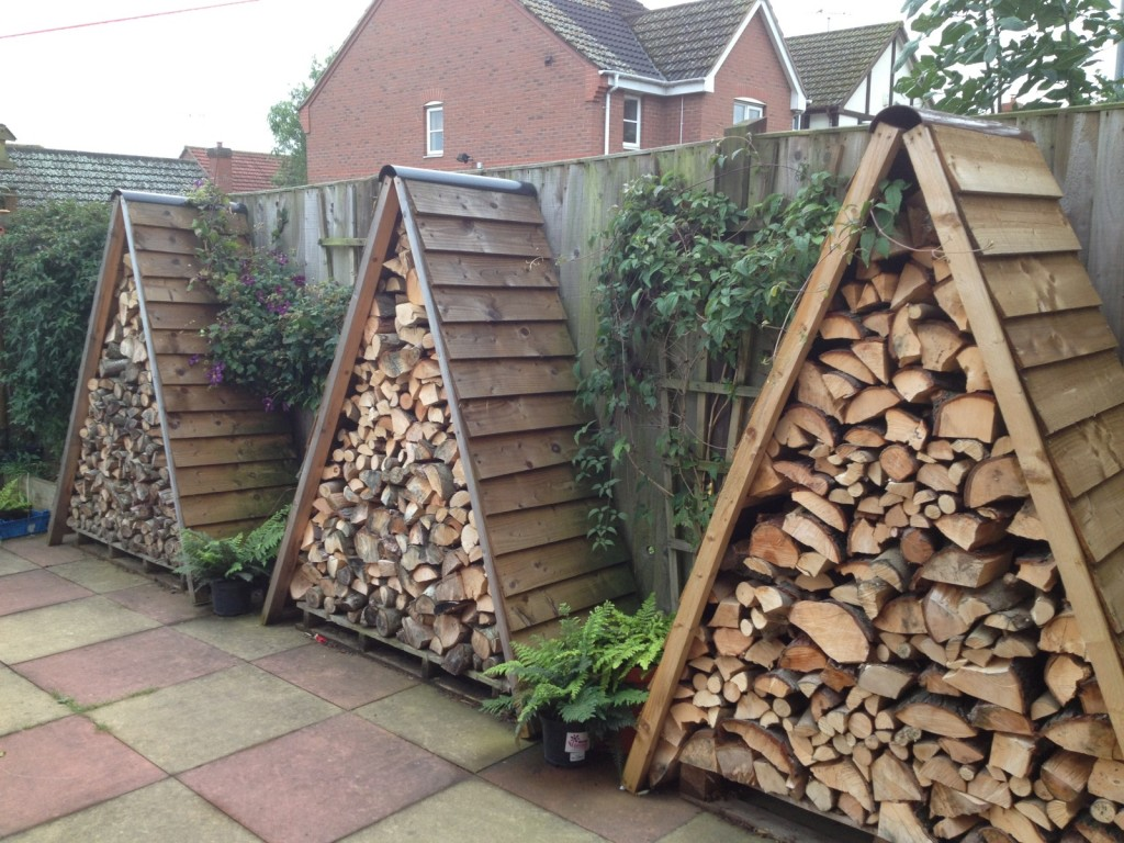 Outdoor Firewood Rack 14 Easy Diy Outdoor Firewood Racks To Keep Those Logs Perfectly