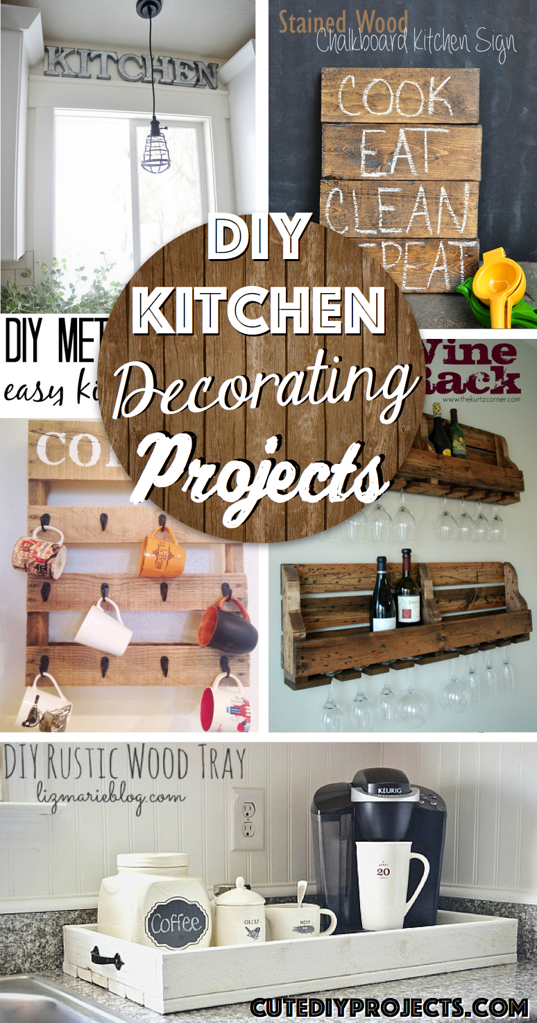 Easy Kitchen Design Ideas The 35 Best Diy Kitchen Decorating Projects Cute Diy Projects