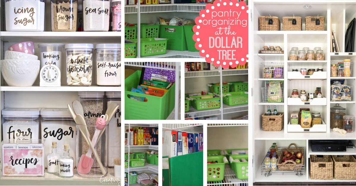 29 Pantry Organization Ideas For Your Kitchen To Get