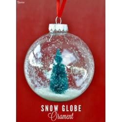 Small Crop Of Homemade Snow Globe