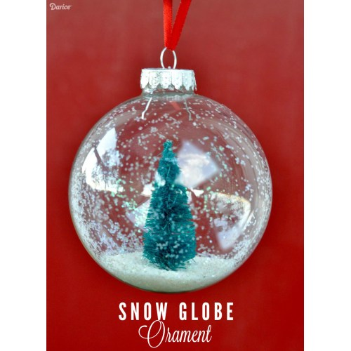 Medium Crop Of Homemade Snow Globe