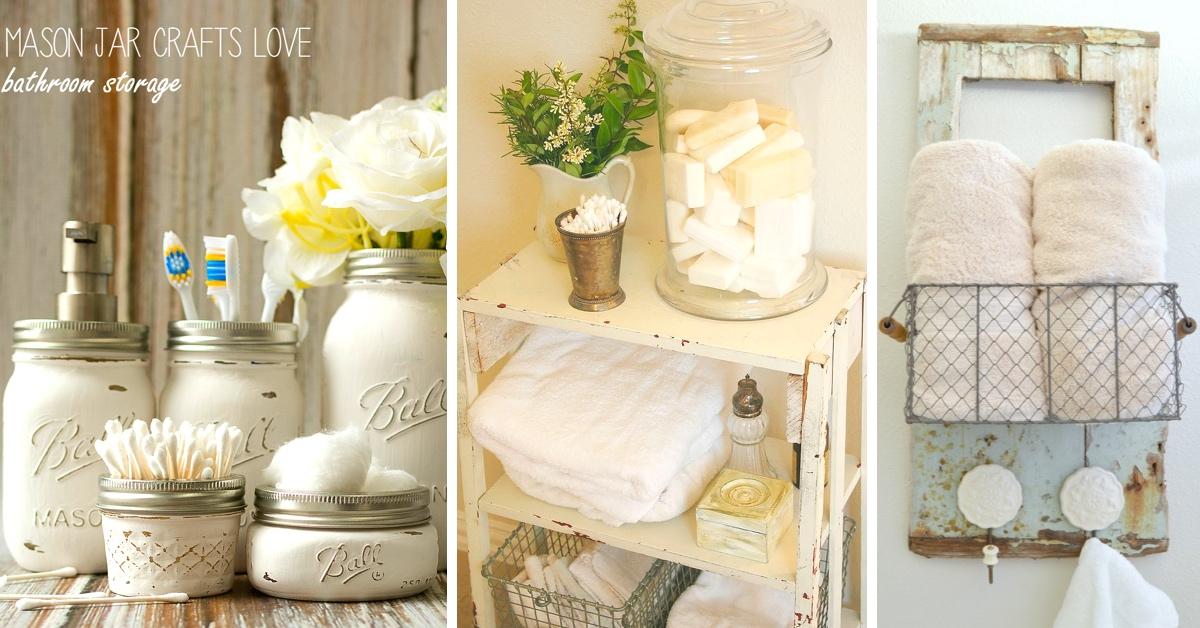 15 Shabby Chic Bathroom Ideas Transforming Your Space From Simple - shabby chic bathroom ideas